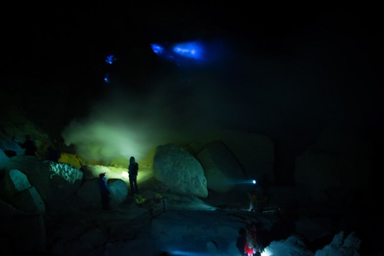 blue fire kawa Ijen
