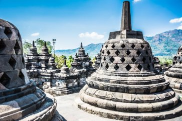 cloches temple borobudur grand format