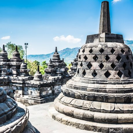 Cloches de Borobudur