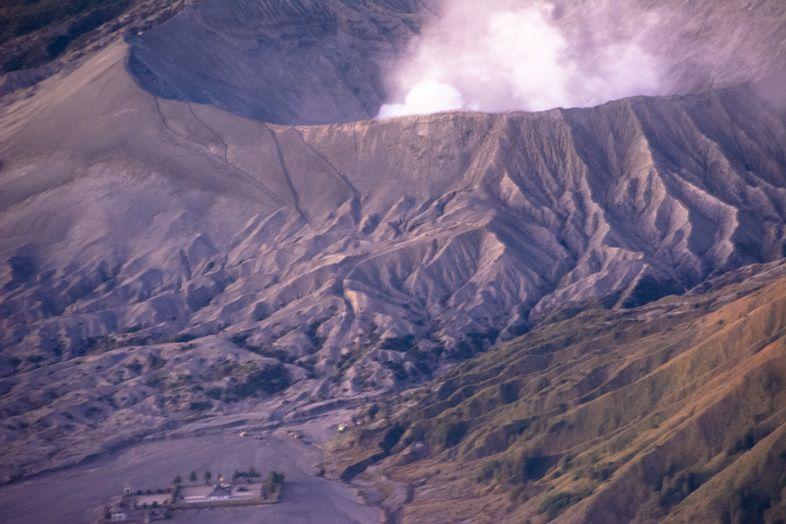 Vue du Mont Bromo de près à partir du Mont Penanjakan