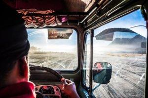 Traversée pour atteindre le Mont Bromo