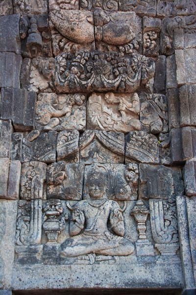 stuc temple de prambanan