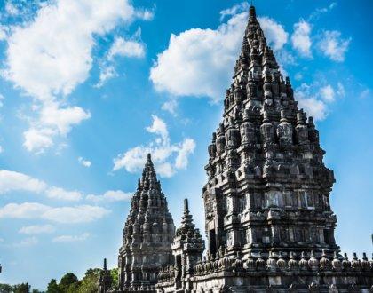 temple de Prambanan en indonesie java
