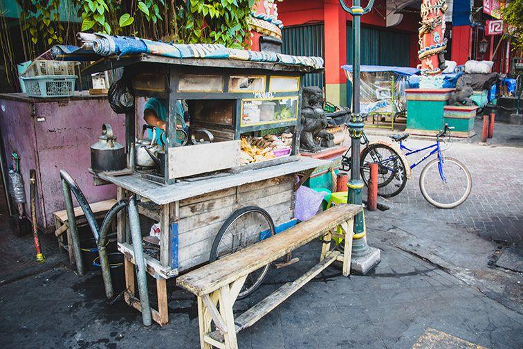 Un warung typique à yogyakarta