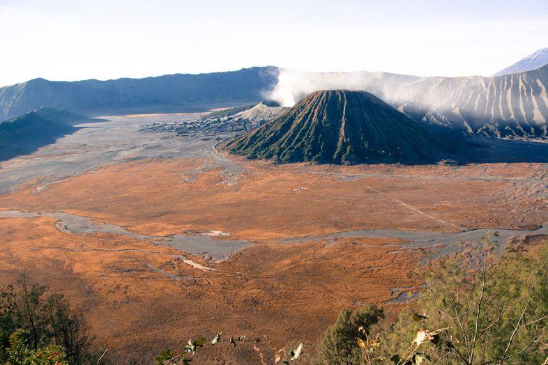 Le désert du Mont Bromo et du Mont Batok