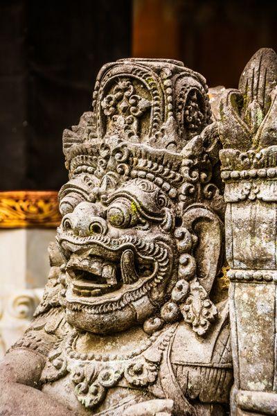 statue de près à Ubud