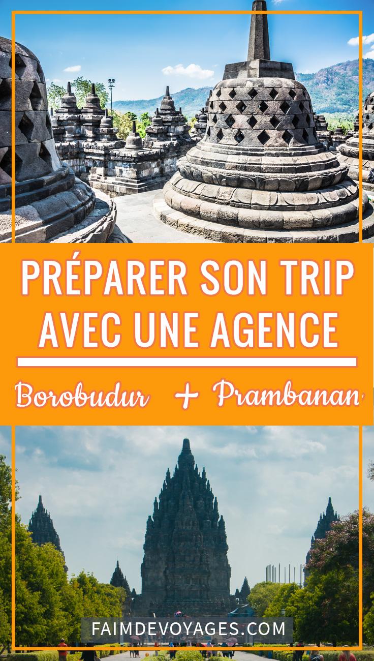 Borobudur Avec Une Agence