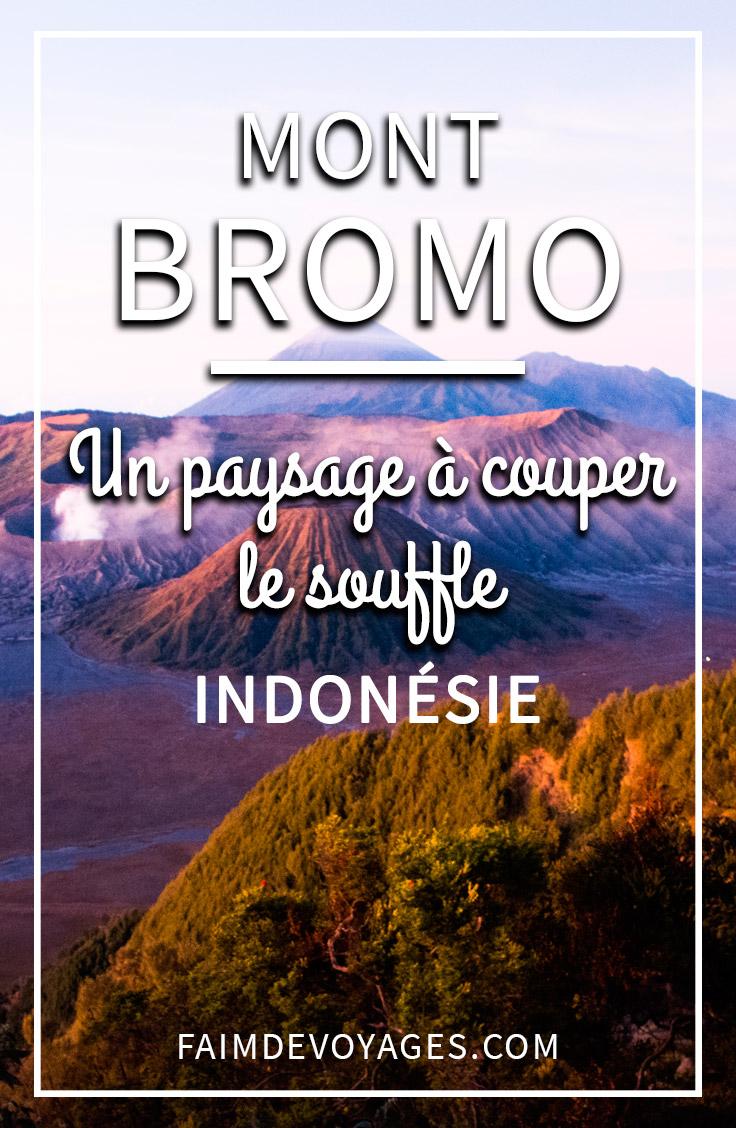 Le Mont Bromo En Indonésie Quand Le Soleil Se Lève