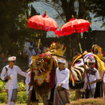 festivites bali temple bratan