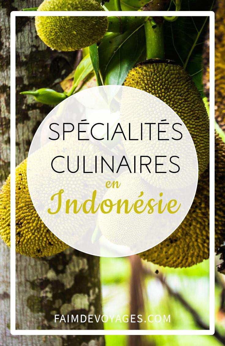 Fruit Du Jacquier En Indonésie