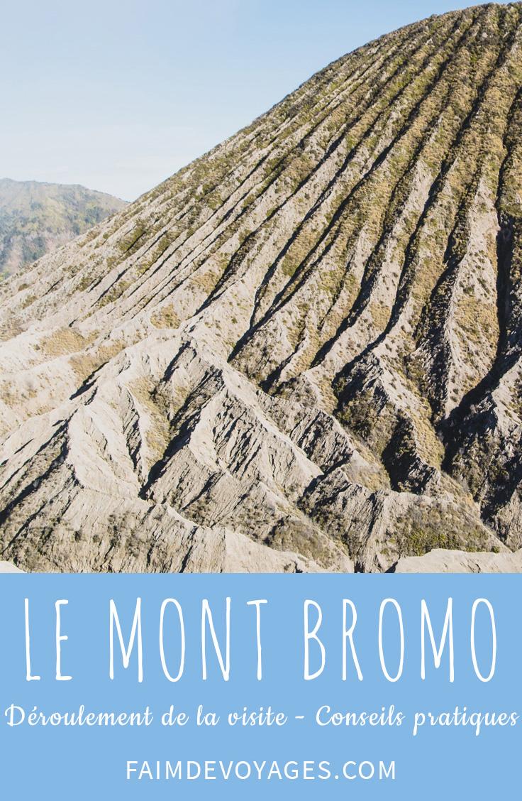 Mont Bromo Proche De Nous En Indonésie