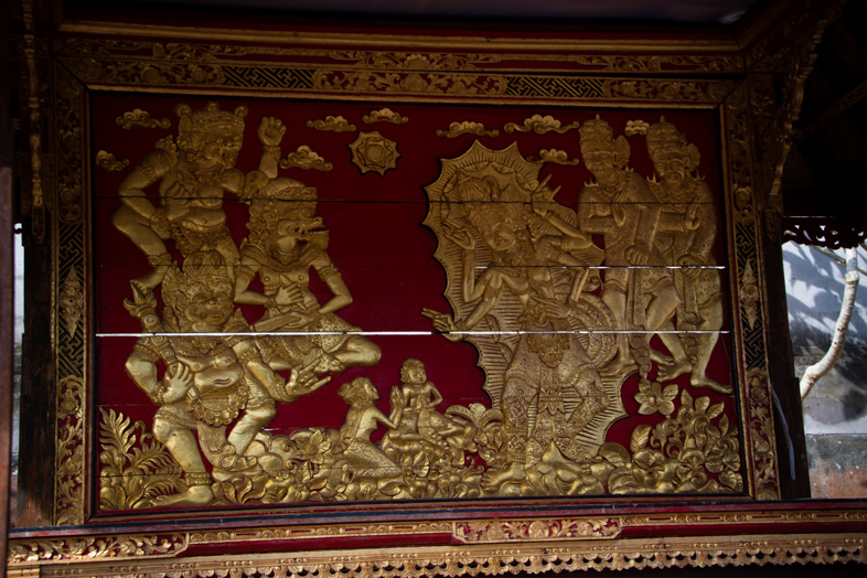 panneau bali besakih temple
