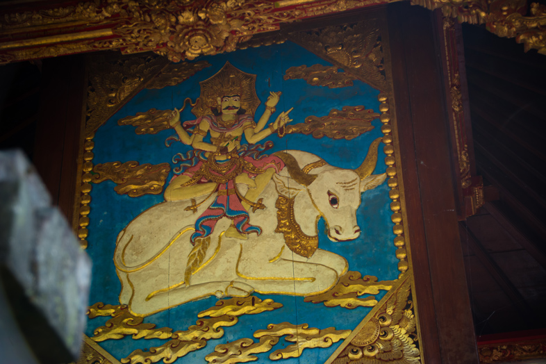 peinture bali besakih temple