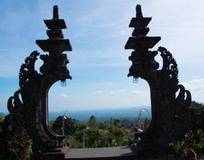 postshow besakih bali temple