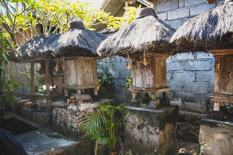 temple familiale bali tenganan