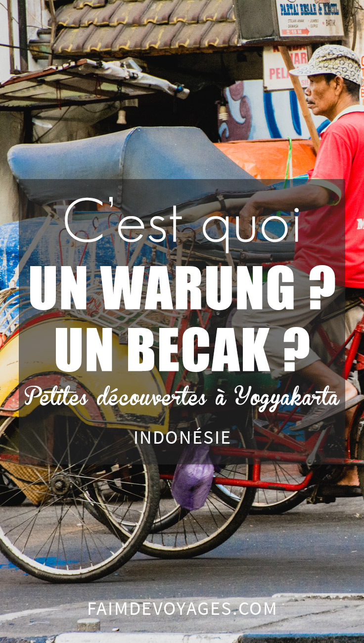 C'est Quoi Un Warung à Yogyakarta