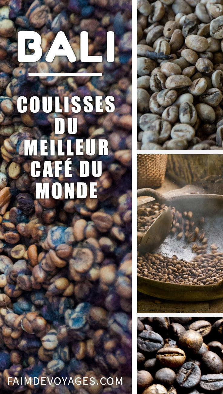 Coulisses Du Meilleur Café Du Monde à Bali