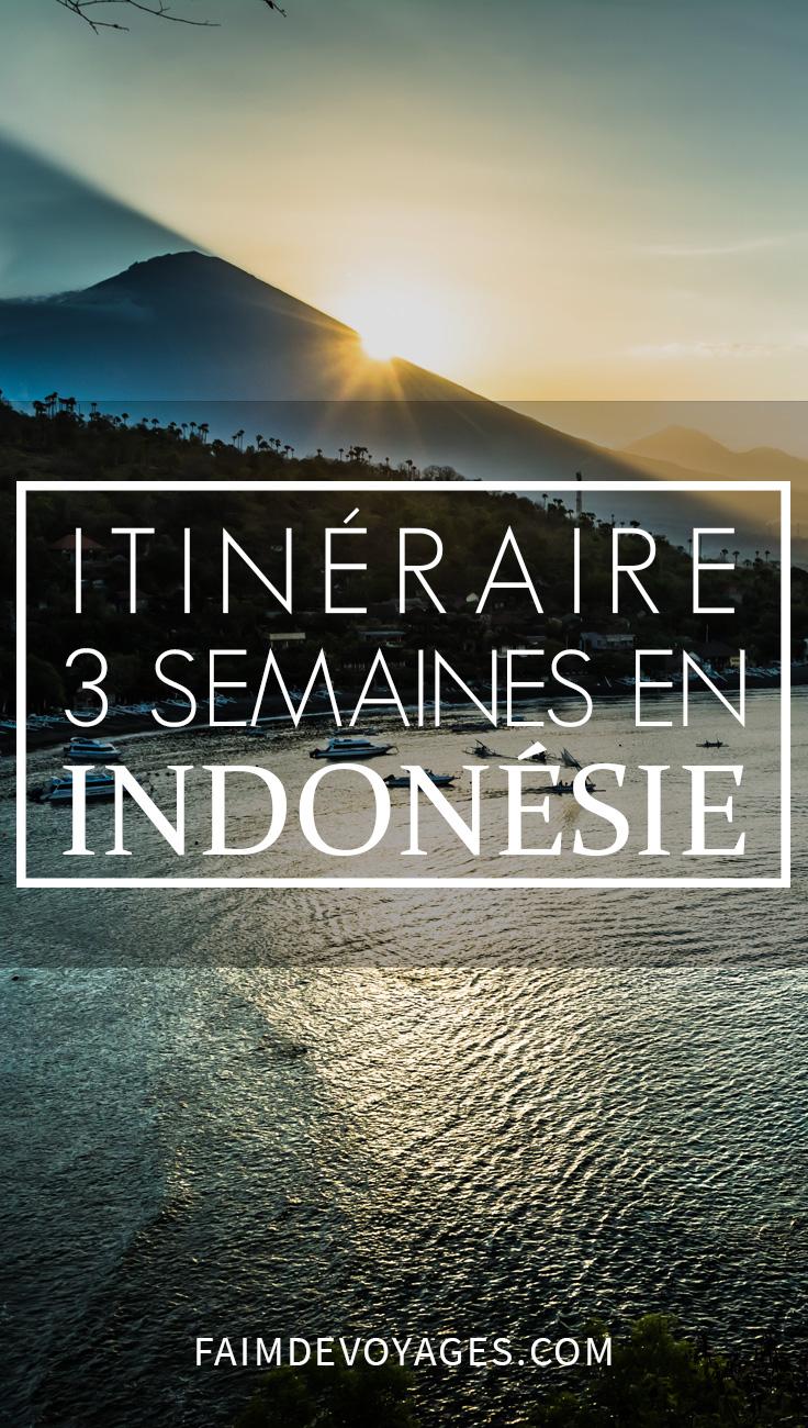 Itinéraire En Indonésie De 3 Semaines Sur Les îles De Java Et Bali