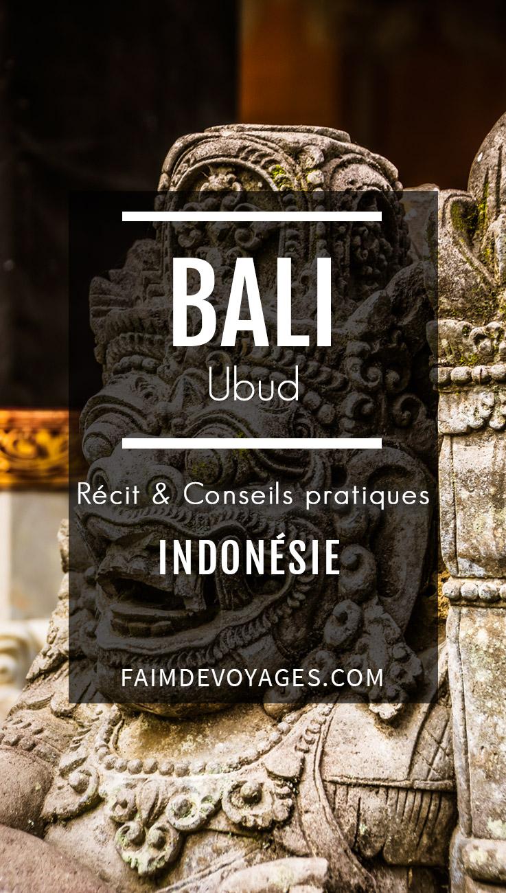 Statue à Ubud à Bali