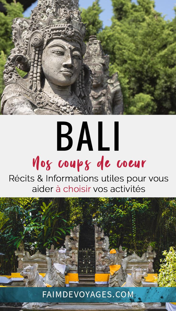 Statues Et Tempmes De Bali, Nos Coups De Coeur