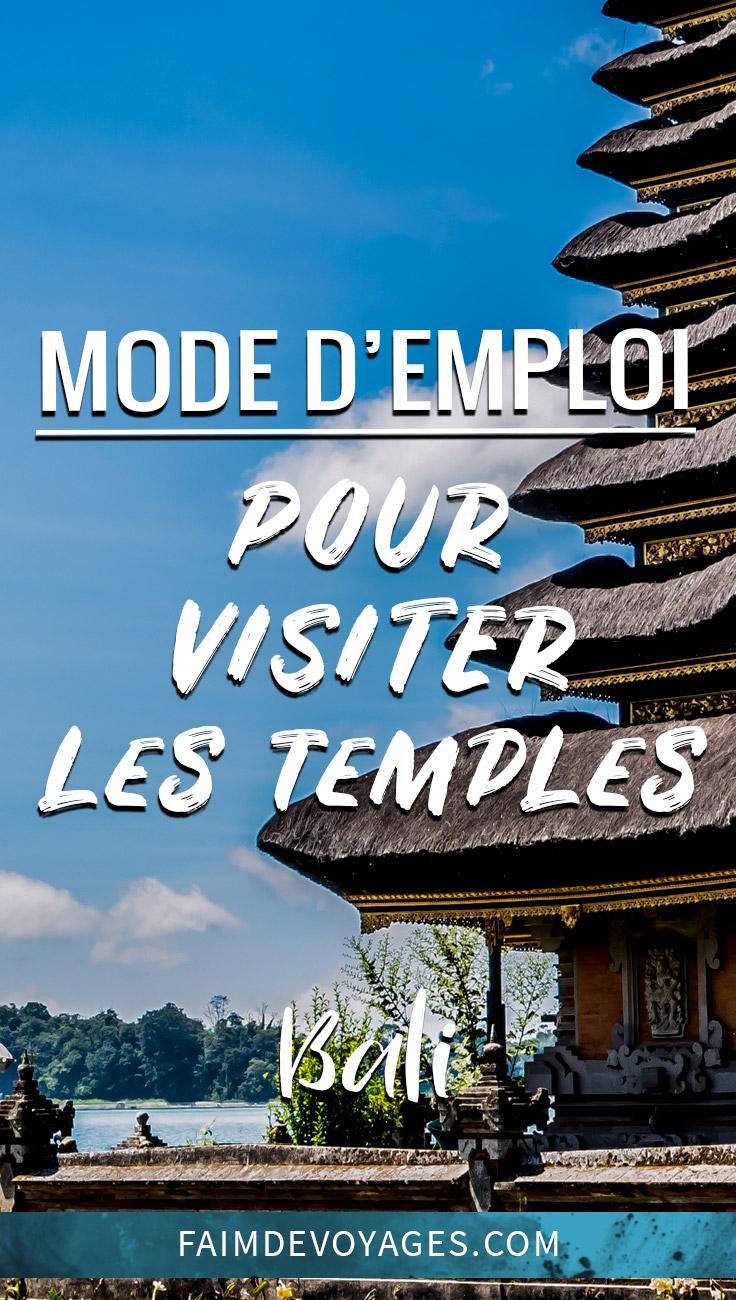 Mode D Emploi Visiter Les Temples Indonésie