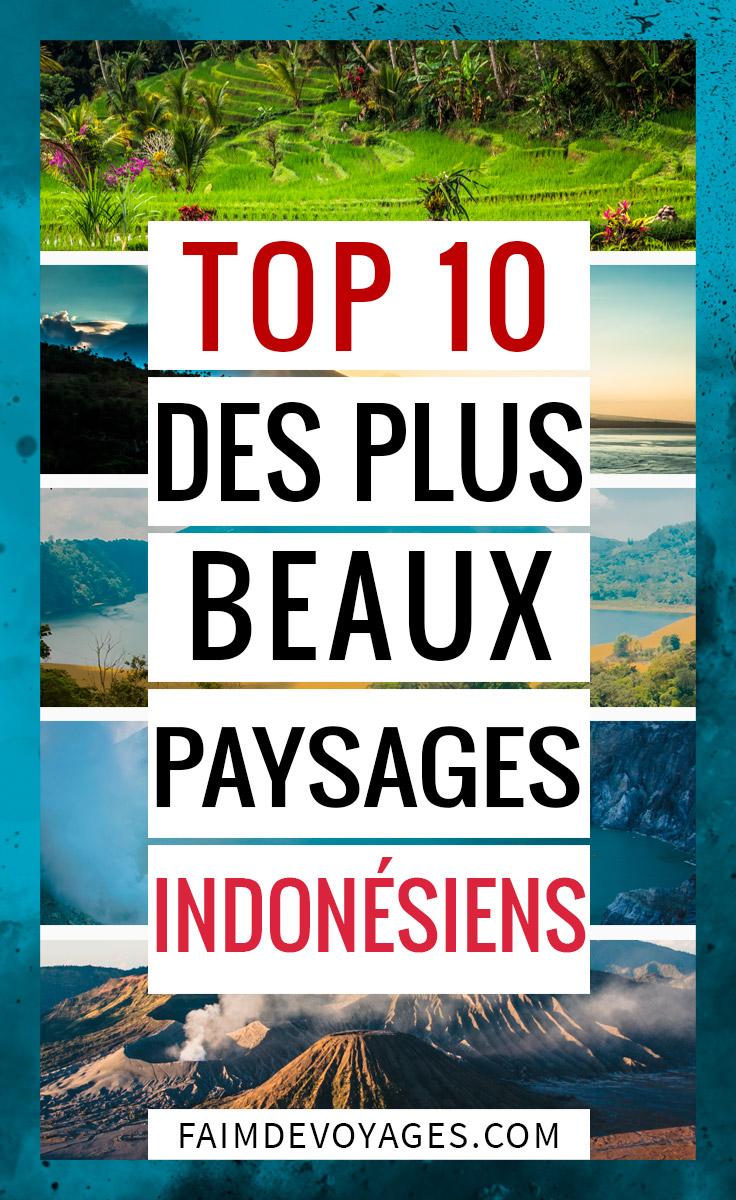 Notre Top 10 Des Plus Beaux Paysages En Indonésie