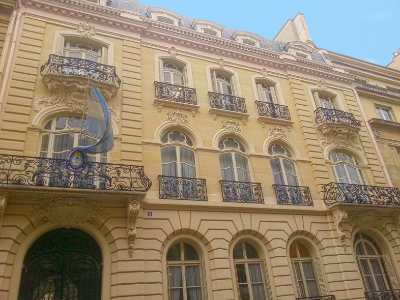 batiment-Ambassade-de-la-république-argentine-a-paris-visa-pvt-6-rue-cimarosa