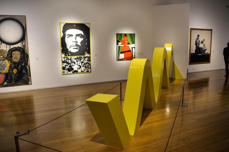 museographie museo de Arte Latinoamericano de Buenos Aires Argentine