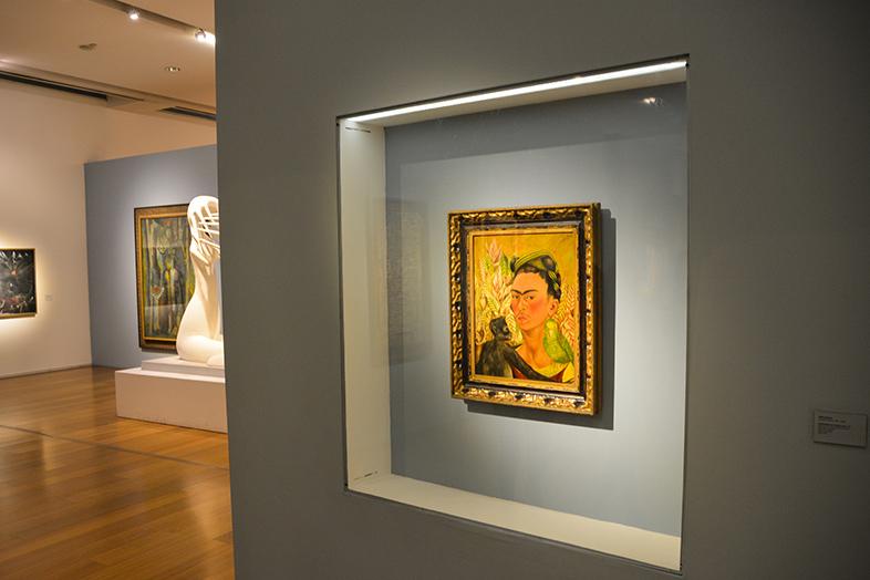 portrait Frida kahlo museo de Arte Latinoamericano de Buenos Aires #Argentine