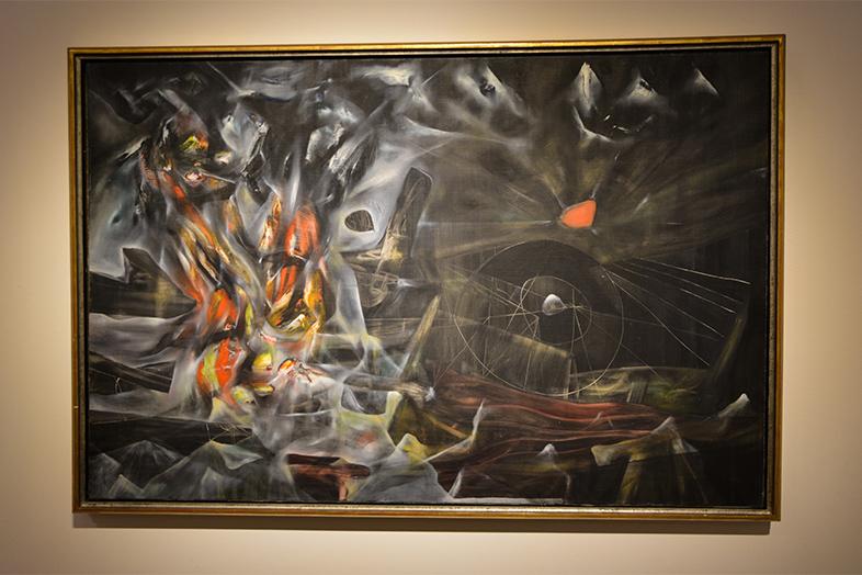 roberto matta the disasters of mysticism museo de Arte Latinoamericano de Buenos Aires Argentine