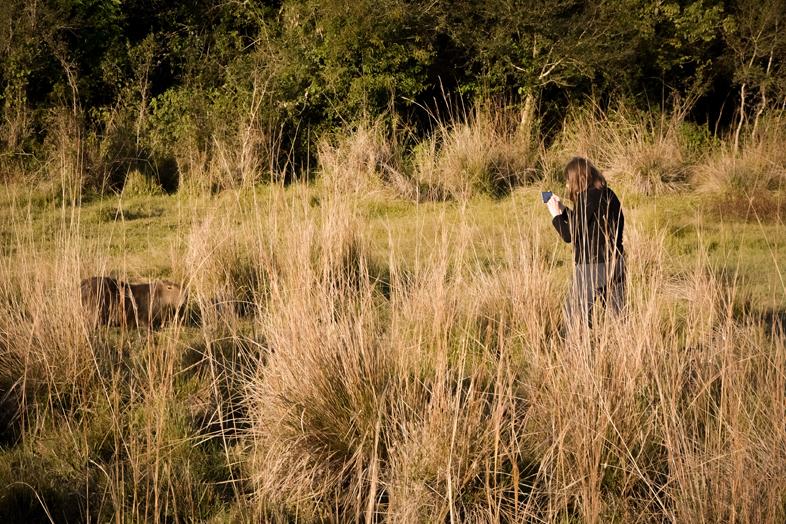 Esteros del Ibera Argentine Carlos Pellegrini prendre en photo