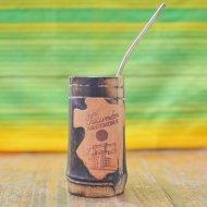 Mate et bombilla boisson traditionnelle Argentine en canne de tucuman