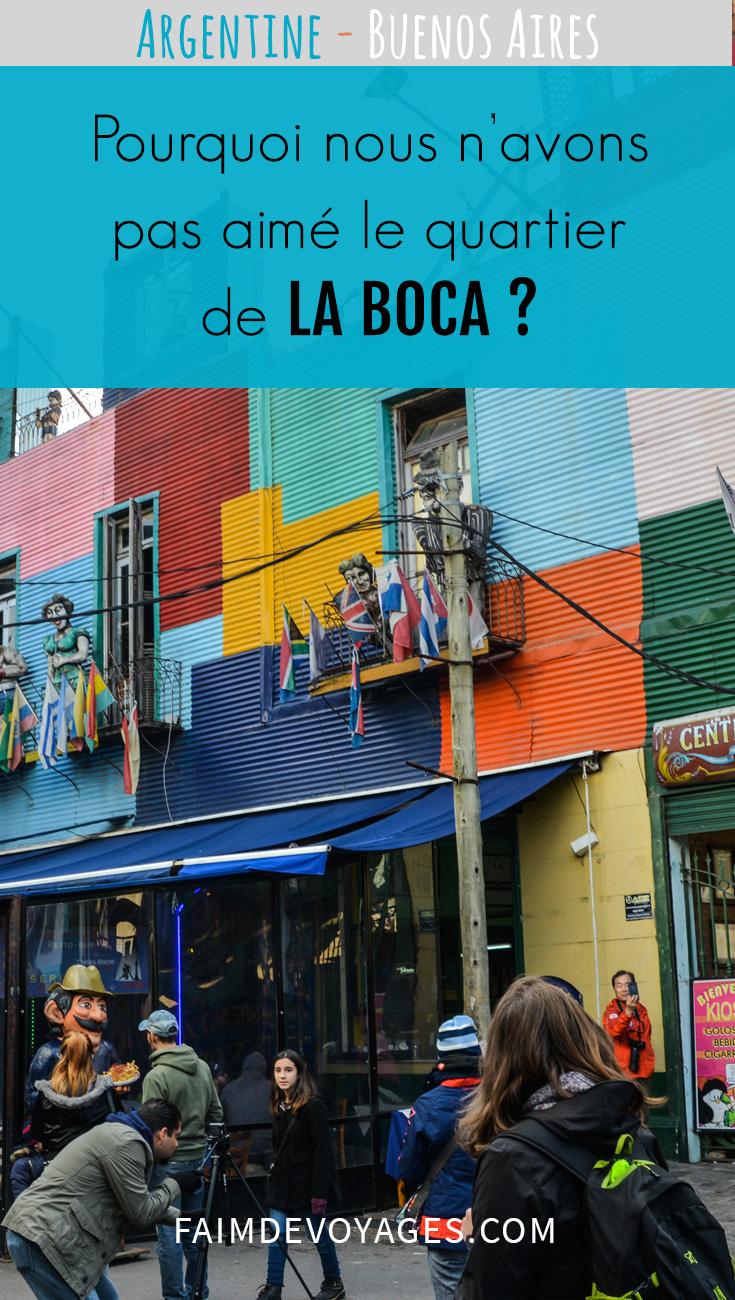 Vue Du Quartier De La Boca