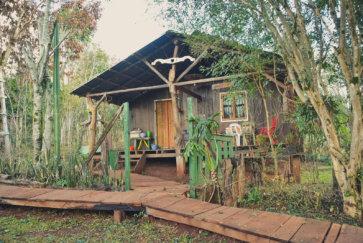 Réserve Yvytu workaway argentine region misiones exterieur cabane principale postshow