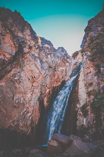 cascade au bout du chemin de la garganta del diablo tilcara jujuy argentine 2