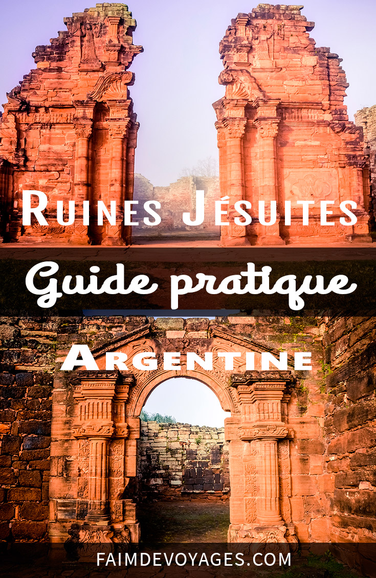 Ruine Jésuites en Argentine