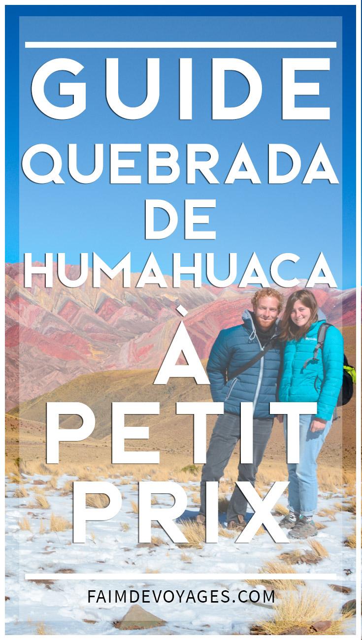 Humahuaca Sans Voiture De Location