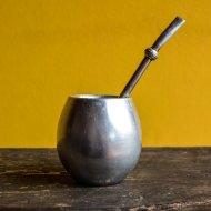 Mate et bombilla boisson traditionnelle Argentine mate en inox