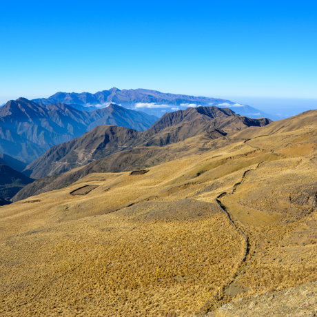 postshow chemin de inca santa ana randonnee trekking altitude puna jujuy argentine paysage