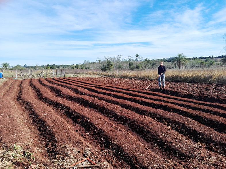 volontariat workaway paraguay san ignacio guazu les travaux