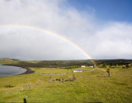 volontariat workaway puerto natales chili patagonie arc en ciel sur estancia postshow