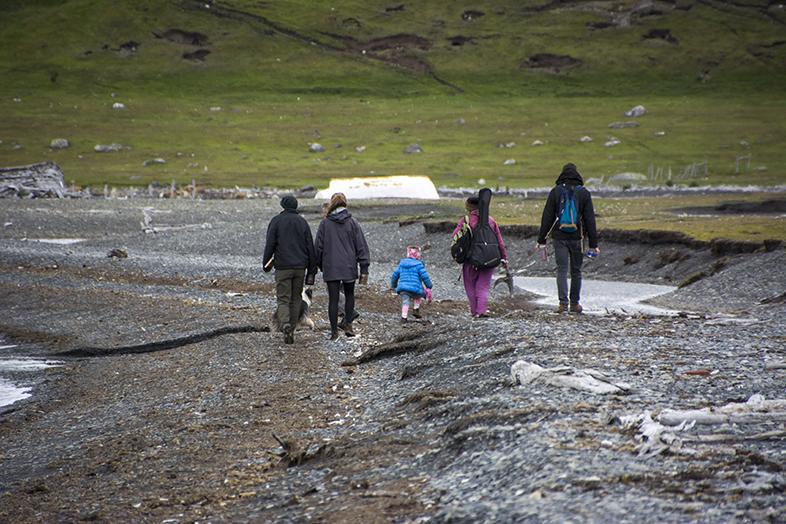 volontariat workaway puerto natales chili patagonie equipe de pecheurs