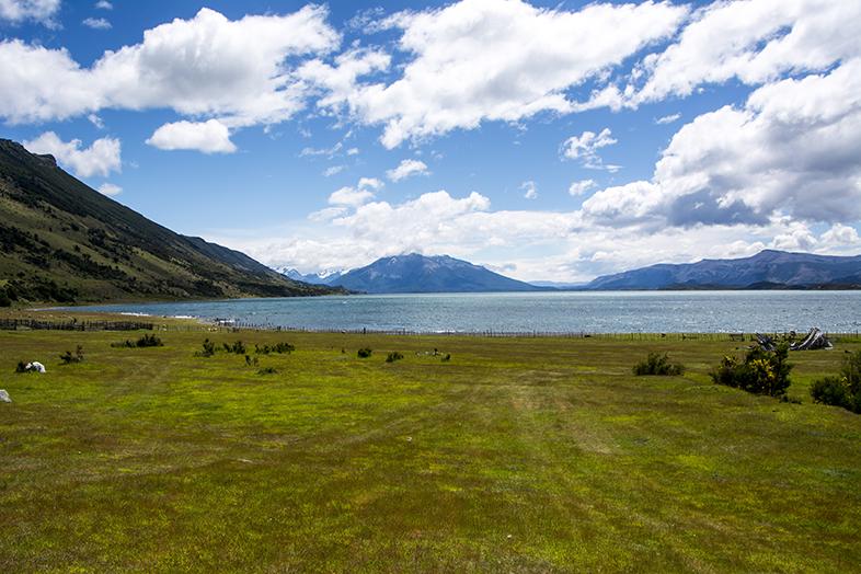 volontariat workaway puerto natales chili patagonie vue depuis estancia fiord