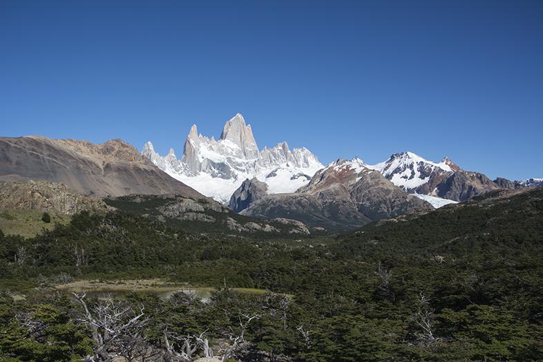 El Chalten trekking randonnee Mont Fitz Roy apercu en Argentine