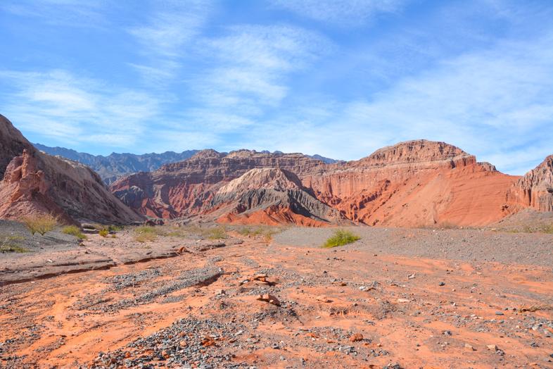 Roadtrip Salta Argentine boucle sud quebrada de las conchas montagnes colorees