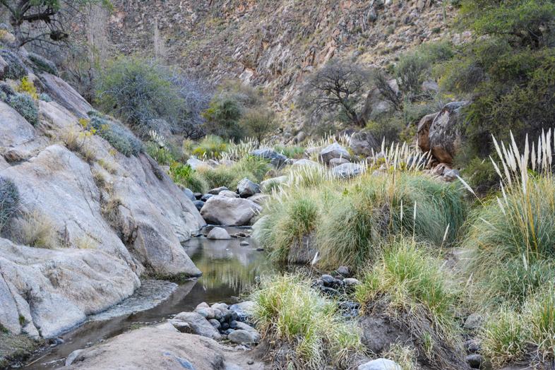 Roadtrip Salta Argentine boucle sud rio de los 7 cascadas Cafayate