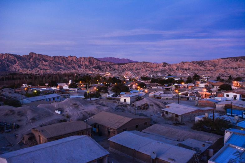 Roadtrip Salta Argentine boucle sud village angastaco route 40 vue depuis mirador