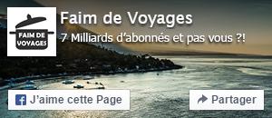 Page Facebook - Faim de Voyages