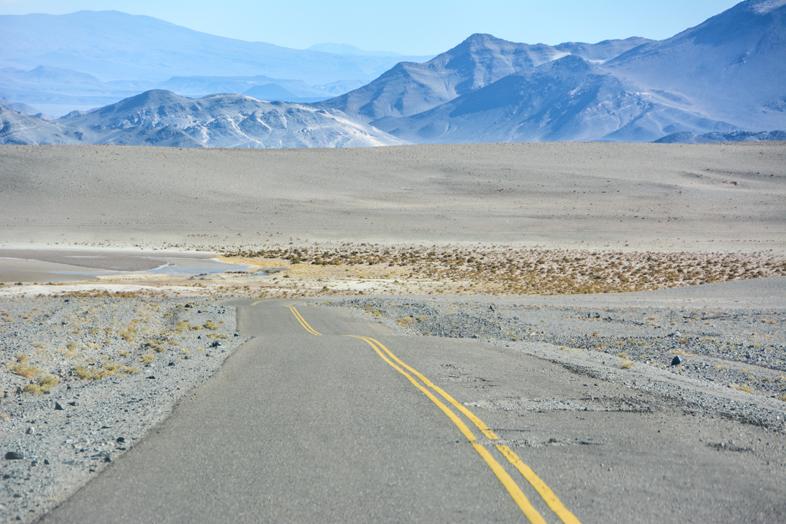 Antofagasta de la Sierra Catamarca Belen Argentine route avec vue sur les montagnes