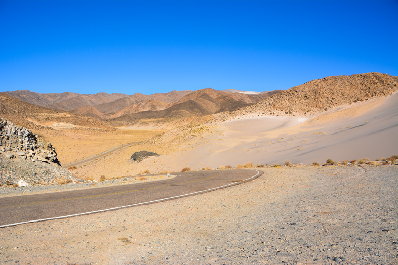 Antofagasta de la Sierra Catamarca Belen Argentine route montagnes colorees